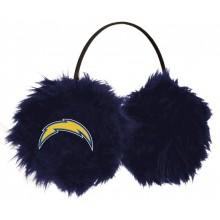 San Diego Chargers Embroidered Faux Fur Team Logo Earmuffs Cheermuffs