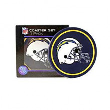 Los Angeles Chargers  4 pack Flexible Coaster Set