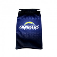 L A Chargers Drawstring Microfiber Glasses Pouch