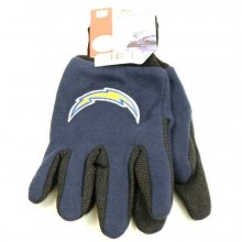 San Diego Chargers Team Color Utility Gloves