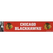 """Chicago Blackhawks 2"""" X 10"""" Bumper Sticker"""