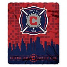 Chicago Fire Light Weight Fleece Blanket