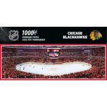 Chicago Blackhawks 1000 Piece Panoramic Puzzle