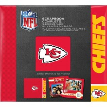 "Kansas City Chiefs 8"" X 8"" Complete Scrapbook"