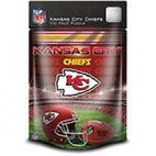 Kansas City Chiefs 100 Piece Puzzle
