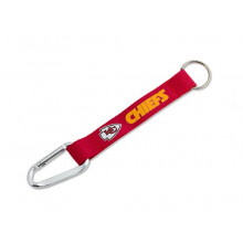 Kansas City Chiefs Carabiner Lanyard Key Chain