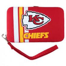 "Kansas City Chiefs Distressed Wallet Wristlet Case (3.5"" X .5"" X 6"")"