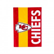 Kansas City Chiefs Embellish House Flag