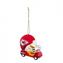 Kansas City Chiefs  Field Car Ornament