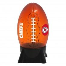 Kansas City Chiefs Football Shaped Night Light