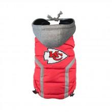 Kansas City Chiefs Pet Puffer Vest