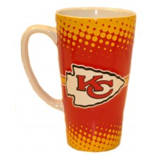 Kansas City Chiefs 16-ounce Sculpted Latte Mug