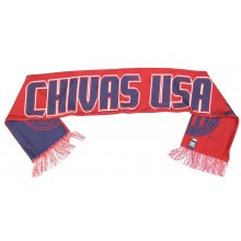 MLS Officially Licensed Chivas USA Double Sided Fringe Scarf