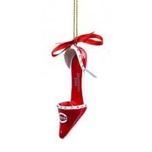 Cincinnati Reds Team High Heel Shoe Ornament