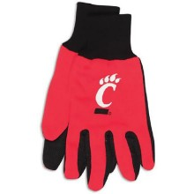 Cincinnati Bearcats Team Color Utility Gloves