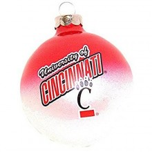Cincinnati Bearcats Small Painted Round Ornament