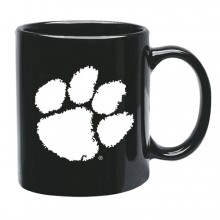 Clemson Tigers 15 oz Black Ceramic Coffee Cup