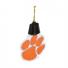 Clemson Tigers Acrylic LED Light Up Ornament