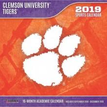 Clemson Tigers 12 x 12 Wall Calendar (2019)