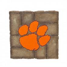 Clemson Tigers 12 inch x 12 inch Garden Stone