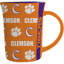 Clemson Tigers 15 Oz Line Up Repeater Mug