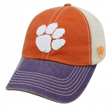 Clemson Tigers  Off Road Mesh Back Adjustable Snapback Hat