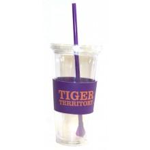 "Clemson Tigers  ""Tiger Territory"" 22 oz Slogan Tumbler"