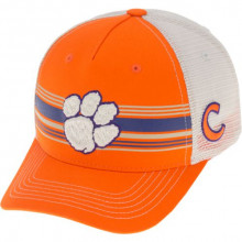 Clemson Tigers  Sunrise Mesh Back Adjustable Snapback Hat