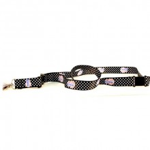 LA Clippers Polka Dot Breakaway Lanyard Key Chain