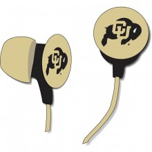 Colorado Buffaloes Ihip Earbuds Headphones