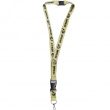 NCAA Colorado Buffaloes Premium Double Sided Breakaway Lanyard Key Chain