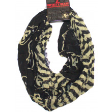 Colorado Buffaloes Striped 2 Tone Infinity Scarf
