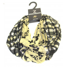 Colorado Buffaloes Tartan Plaid Infinity Scarf