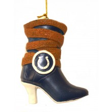 Indianapolis Colts Hanging Boot Ornament