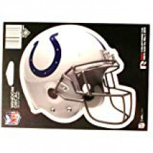 "Indianapolis Colts 6"" Helmet Die-Cut Window Decal"
