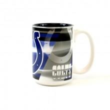 Indianapolis Colts 15oz Shadow Ceramic Mug