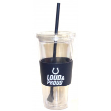 "Indianapolis Colts ""Loud and Proud"" 22 oz Slogan Tumbler"