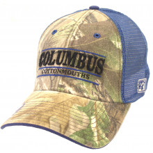 Columbus Cottonmouths RealTree Camouflage Flex Fit Hat