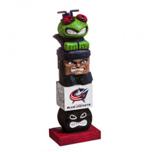 Columbus Blue Jackets Tiki Totem