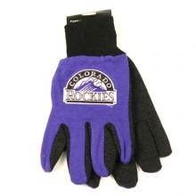 MLB Colorado Rockies Team Color Utility Gloves