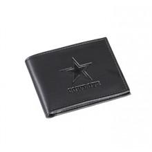 Dallas Cowboys Black Leather Bi-Fold Wallet