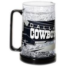Dallas Cowboys 16-Ounce Crystal Freezer Mug