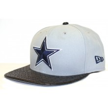 Dallas Cowboys 9Fifty Leather Bill Adjustable Hat Cap Lid