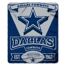 "Dallas Cowboys 50"" x 60"" Marque Fleece Throw Blanket"