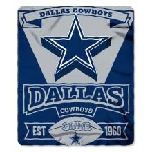 "Dallas Cowboys 50"" x 60"" Marque Fleece Throw Blanket"