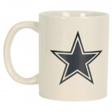 Dallas Cowboys 11 oz White Ceramic Mug