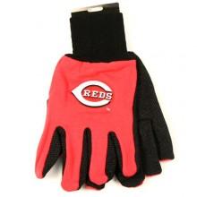 MLB Cincinnati Reds Team Color Utility Gloves