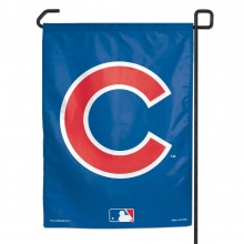 "Chicago Cubs Big ""C"" 11"" x 15""  Garden Flag"