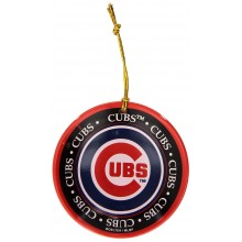 Chicago Cubs  Ceramic Mini Plate Ornament