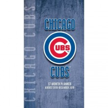 Chicago Cubs17 Month Pocket Planner (2018-2019)
